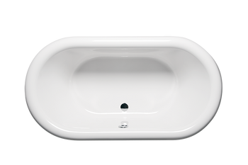 Malibu Leadbetter Freestanding Soaking Bathtub, 71-Inch by 35-Inch by 25-Inch, White or Biscuit
