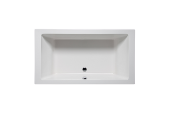 Malibu Rincon Soaking Bathtub, 66-Inch by 36-Inch by 22-Inch, White or Biscuit