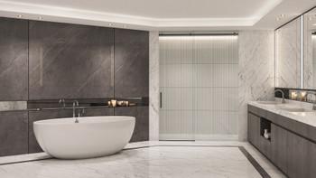 Malibu Salem Freestanding Oval Soaking Bathtub, 72-Inch by 40-Inch by 24-Inch, White