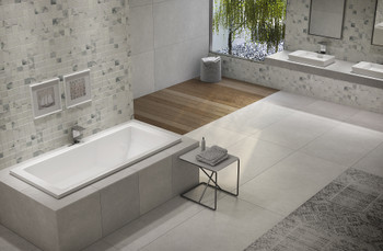 Malibu Venice Rectangular Soaking Bathtub, 60-Inch by 30-Inch by 22-Inch, White