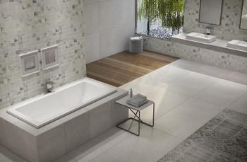 Malibu Venice Rectangular Soaking Bathtub, 60-Inch by 32-Inch by 22-Inch, White