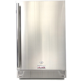 Blaze 4.1 Cu. Ft. Outdoor Stainless Steel Compact Refrigerator – UL Approved - BLZ-SSRF-40DH