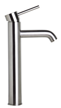 ALFI brand AB1023-BN Tall Brushed Nickel Single Lever Bathroom Faucet