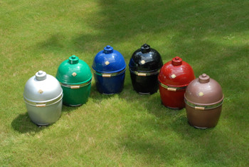 "GRILL DOME Infinity X2 L 18"" Diameter Kamado - In CUSTOM Color Options - Complete With Domemobile & Side shelves - GSL-XX-DM"