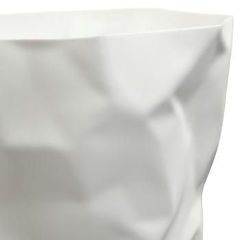 Lava Trash Bin EEI-1022-WHI In White