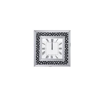 ACME Marku Wall Clock, Mirrored