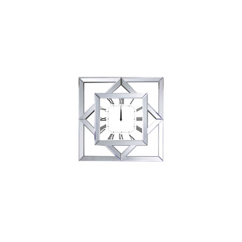 ACME Mhina Wall Clock, Mirrored