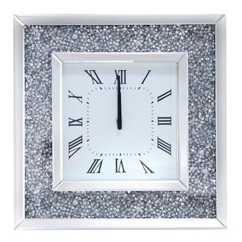 ACME Noralie Wall Clock, Mirrored