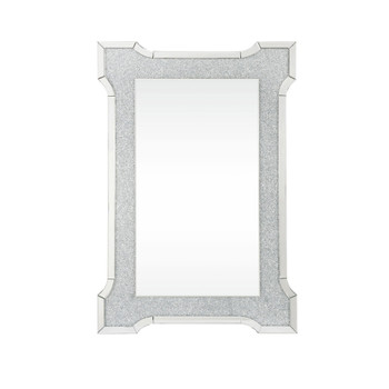 ACME Nowles Wall Decor, Mirrored & Faux Stones