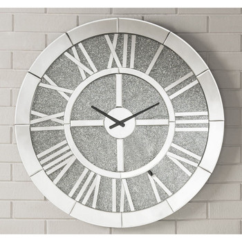 ACME 97724 Nowles Wall Clock, Mirrored