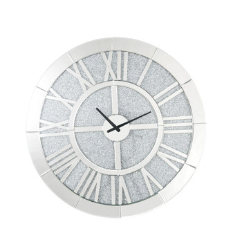 ACME Nowles Wall Clock, Mirrored