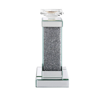 ACME Rekha Accent Candleholder (Set-2), Mirrored