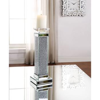 ACME 97616 Rekha Accent Candleholder (Set-2), Mirrored