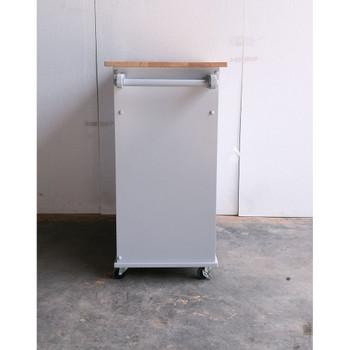 ACME 98310 Tullarick Kitchen Cart, Natural & Gray
