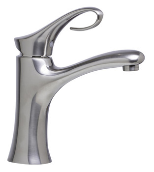 ALFI brand AB1295-BN Brushed Nickel Single Lever Bathroom Faucet