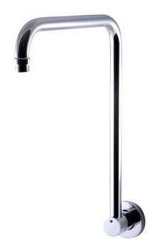 "ALFI brand AB12GRW-PC Polished Chrome 12"" Round Raised Wall Mounted Shower Arm"