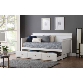 ACME 39100 Bailee Daybed, White (1Set/2Ctn)