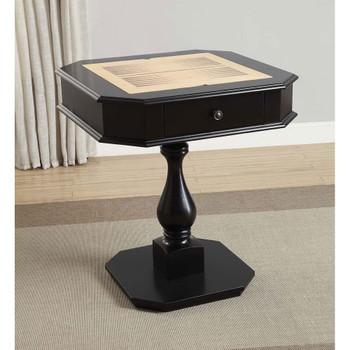 ACME 82846 Bishop Game Table, Black