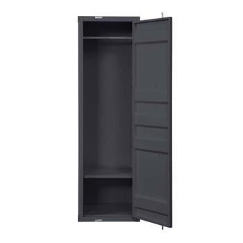 ACME 35926 Cargo Single Door Wardrobe, Gunmetal