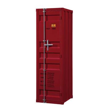 ACME 35955 Cargo Single Door Wardrobe, Red