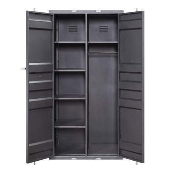 ACME 37899 Cargo Double door Wardrobe, Gunmetal