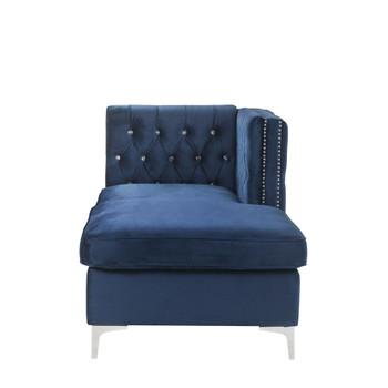 ACME Jaszira Modular - Chaise, Blue Velvet