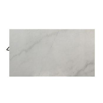 ACME 98400 Lanzo Kitchen Island (Counter), Marble & Gunmetal
