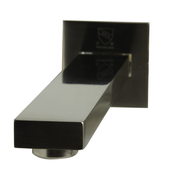 ALFI brand AB1468-BN Brushed Nickel Single Lever Wallmount Bathroom Faucet