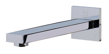 ALFI brand AB1468-PC Polished Chrome Single Lever Wallmount Bathroom Faucet