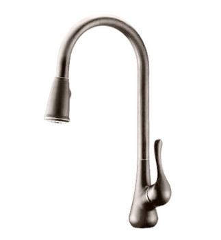 Pull Down Kitchen Faucet In Brushed Nickel N2070950-BN