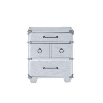 ACME Orchest Nightstand w/3 Drw, Gray