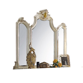ACME Picardy Mirror, Antique Pearl