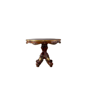 ACME Picardy Counter Height Table, Cherry Oak