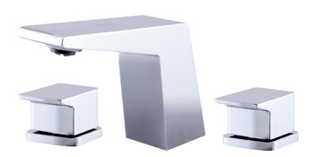 ALFI brand AB1471-PC Polished Chrome Modern Widespread Bathroom Faucet