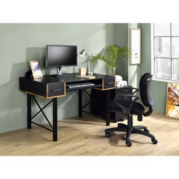ACME 92799 Settea Computer Desk, Black Finish