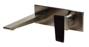 ALFI brand AB1472-BN Brushed Nickel Wall Mounted Bathroom Faucet
