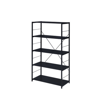 ACME 92778 Tesadea Bookshelf, Black Finish