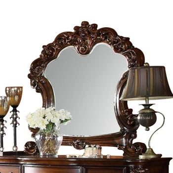 ACME Vendome Mirror, Cherry