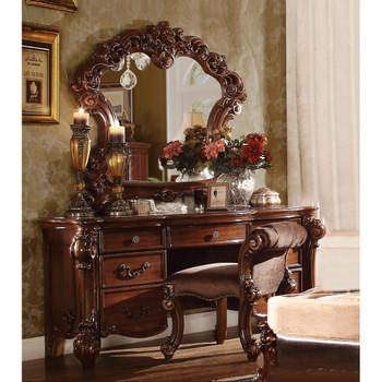 ACME 22009 Vendome Vanity Desk, Cherry