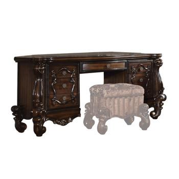 ACME Versailles Vanity Desk, Cherry Oak
