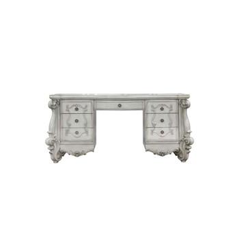 ACME Versailles Vanity Desk, Bone White