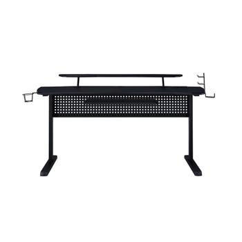 ACME Vildre Gaming Table w/USB Port, Black Finish