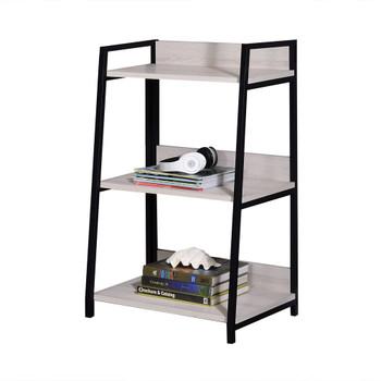 ACME Wendral Bookshelf (3-Tier), Natural & Black
