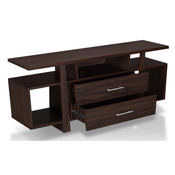 Furniture of America FGI-1788C24 Charlie Modern 59-Inch TV Stand in Wenge