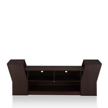 Furniture of America FGI-1789C5 Ezra Contemporary 70-Inch TV Stand in Espresso