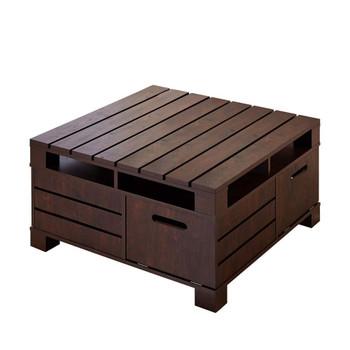 Furniture of America HFW-1454-6 Lynam Contemporary Multi-Storage Coffee Table