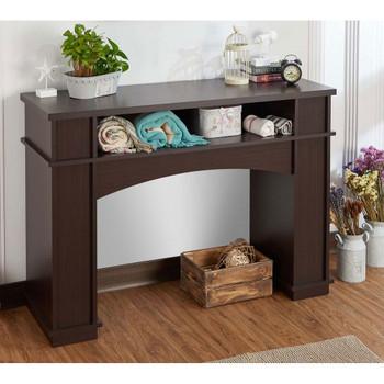 Furniture of America HFW-1695C4 Levi Contemporary Open Storage Console Table