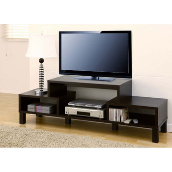 Furniture of America ID-10368 Denis Contemporary 60-Inch TV Stand