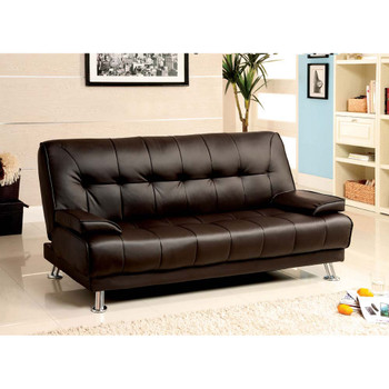 Furniture of America IDF-2100 Pacy Contemporary Upholstered Futon