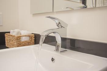 ALFI brand AB1586-PC Polished Chrome Single Lever Bathroom Faucet
